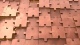 copper puzzle background