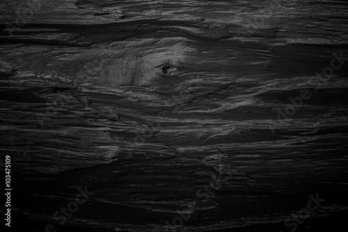 Tela  Black wooden texture background blank for design