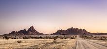 Spitzkoppe Landscape, Namibia.