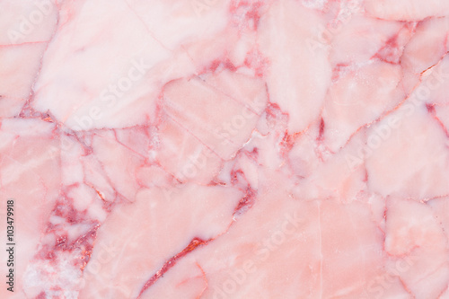 Foto Pink marble texture background