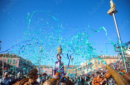 Fotobehang Nice carnaval de Nice