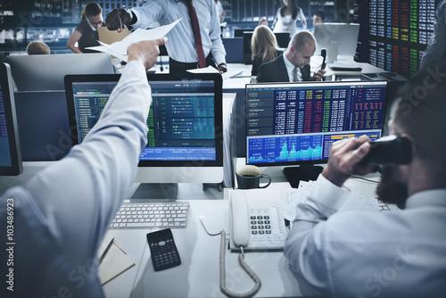 Fotografía  Business Team Investment Entrepreneur Trading Concept