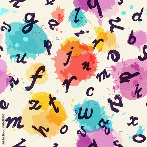 bezszwowe-tlo-z-folwarcznymi-literami-i-sztuczna-akwarela