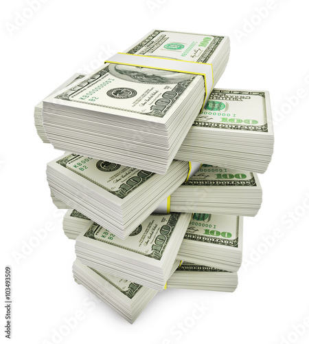 Fotografie, Obraz  Stack of money