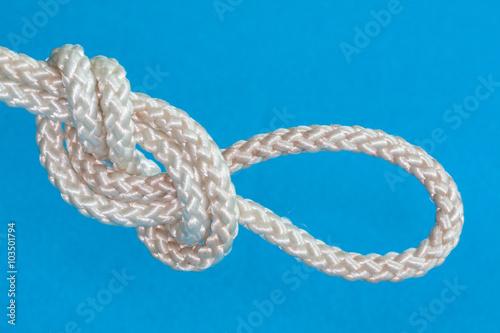 Valokuva  Noeud marin, noeud de boucle en huit