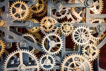 Industrial Clock Transmission Gear Set Details
