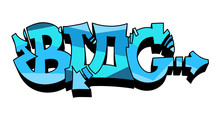 BLOG Graffiti Wildstyle Vector Tag