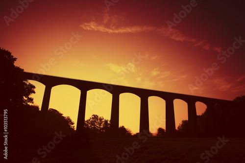 Pontcysyllte Aqueduct, World Heritage site in Wrexham Fototapete