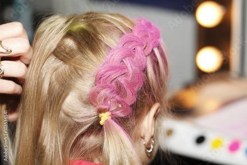 hairstyle, hair stylist hairdresser, close-up