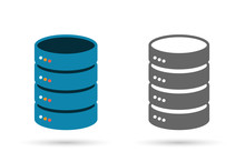 Data Storage Flat Icon