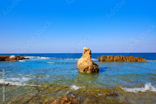 Photo  Las Rotas beach in Denia Alicante