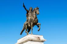 Statue Bronze Louis Xiv