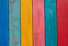 Colorful Mexican Stripes Paint...