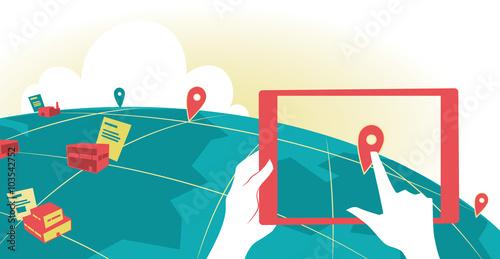 Ricerca globale su tablet