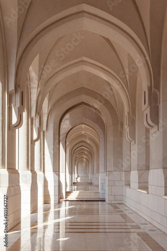 Naklejka premium Brama w Muscat, Oman