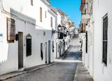 Fototapeta Uliczki - Narrow street of Altea, Costa Blanca. Spain