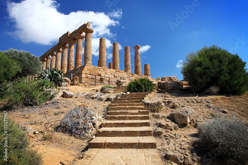 Poster Ruine ancient temple ruins