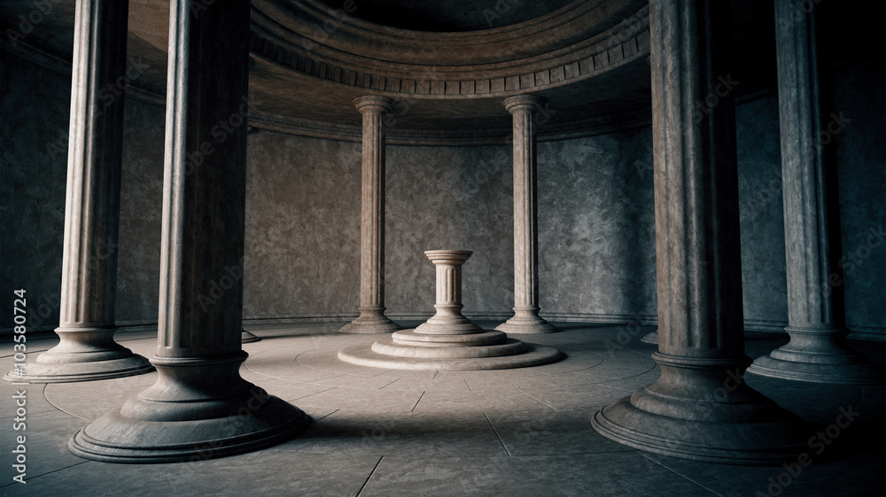 Fototapety, obrazy: Ancient interior