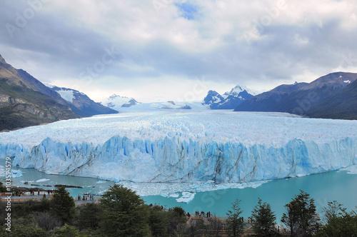 Deurstickers Gletsjers Perito Moreno glacier.