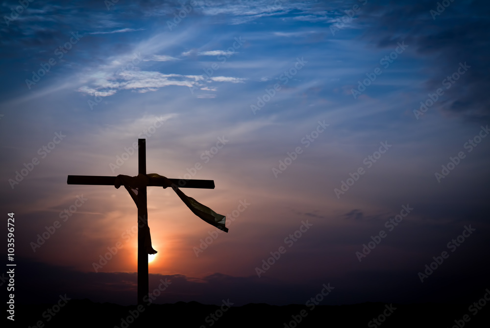 Fototapety, obrazy: Dramatic Easter Morning Sunrise