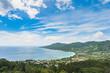 Seychelles landscape. Mahe Island