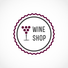 Fototapeta Wino Wine shop