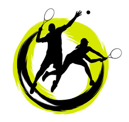 Panel Szklany Tenis Tennis - 204