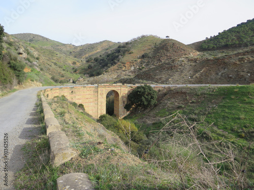 Fotografia, Obraz  Arched road bridge