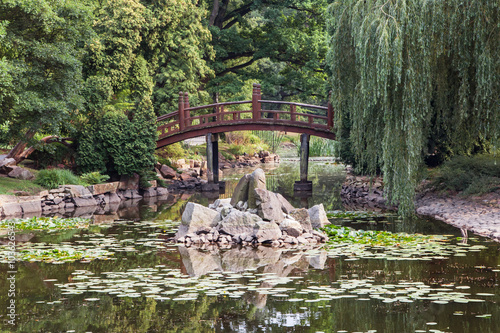 Japanese garden in Wroclaw - 103626543