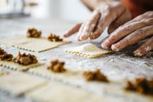 Cooking Fresh Ravioli To Eat