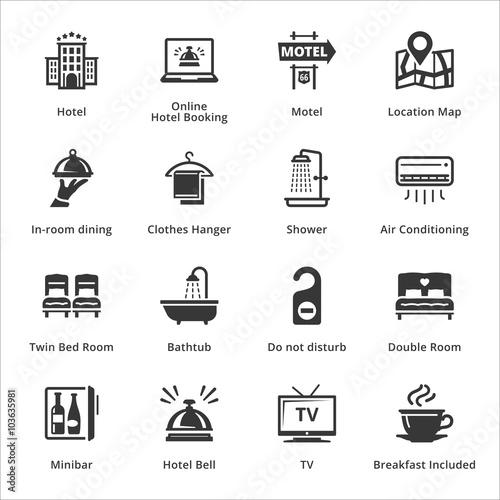 Fotografía  Tourism & Travel Icons - Set 1