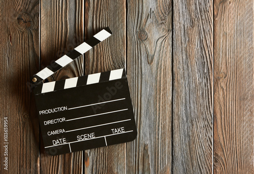 Fényképezés Movie production clapper board