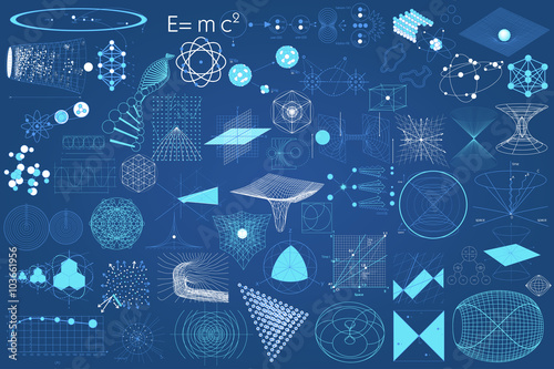 Eelements symbols and schemes of physics Canvas-taulu