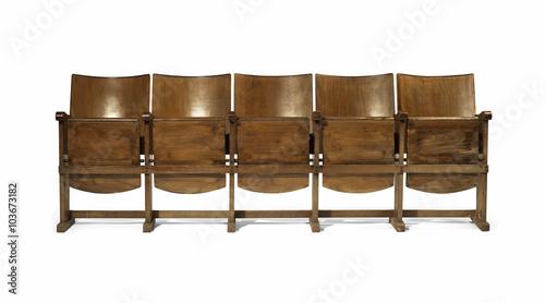 Fototapeta  Fila di sedie da cinema