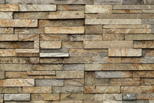 Texture Of Stone Tile Wall