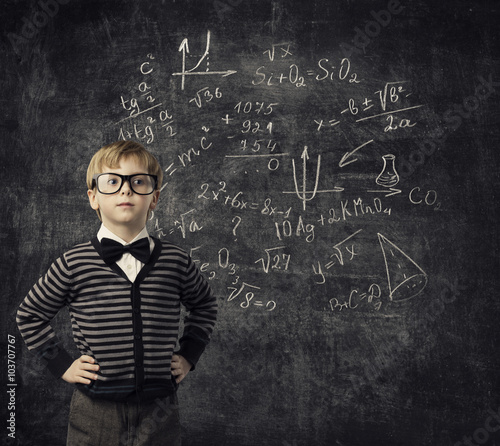 Fotografía  Child Learning Mathematics, Children Education, Student Kid