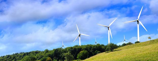 Elektrownia wiatrowa w górach