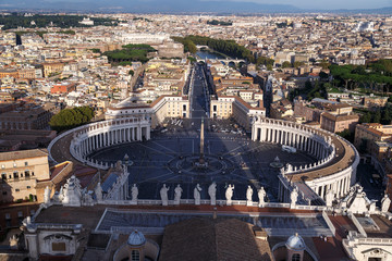 Fototapeta Vatican City Top View