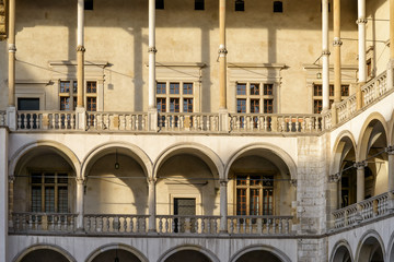 Panel Szklany Wawel