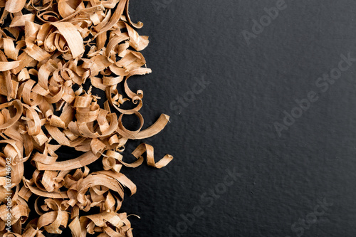 Obraz Wood shavings - fototapety do salonu