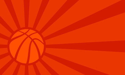 Fototapeta Koszykówka Basketball vector background