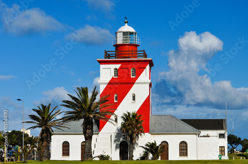 Poster Afrique du Sud Green point light house; Kapstadt; Südafrika