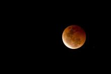 Blood Moon - Lunar Eclipse On October 8, 2014 In Australia
