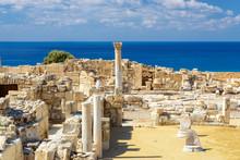 Old Greek Ruins City Of Kourio...