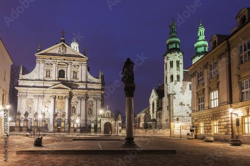 Poster Havana Churches of Krakow