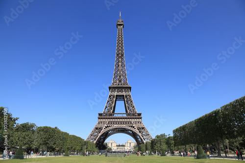 Deurstickers Eiffeltoren エッフェル塔