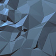 Blue gray background of triangles