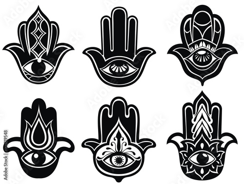 Hand Of Fatima Symbol Of Protection From Devil Eye Buy This