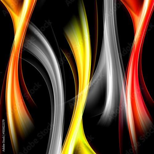 abstrakcyjny-wzor-bialych-czerwonych-i-pomaranczowych-fal
