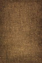 Natural  Burlap Texture For Background. Linen Vertical Backgrou